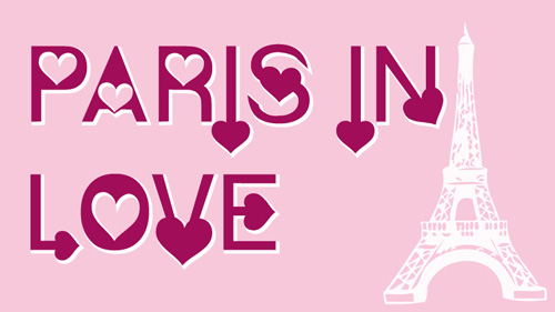 Paris in Love Fonts