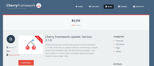 cherry framework review 1