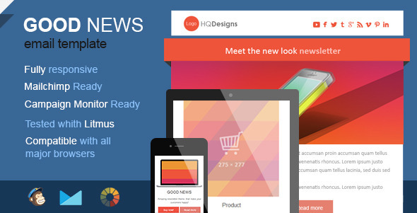 Good News Effective Premium Newsletter Templates