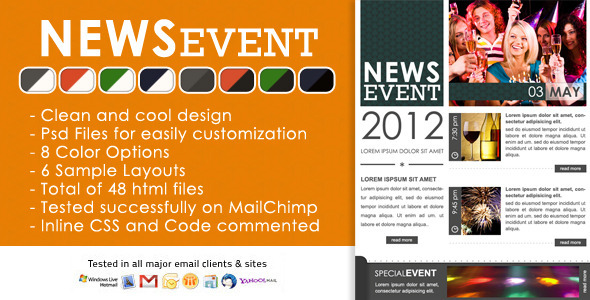 News Event Effective Newsletter Template