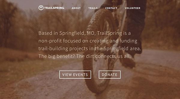 Trail spring