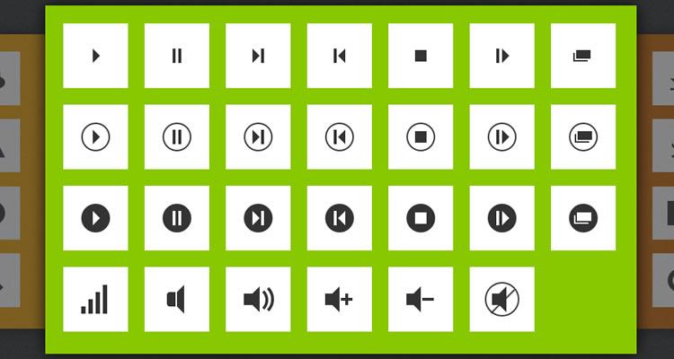 200 CSS3 Icons