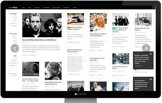 WallPress Wp theme