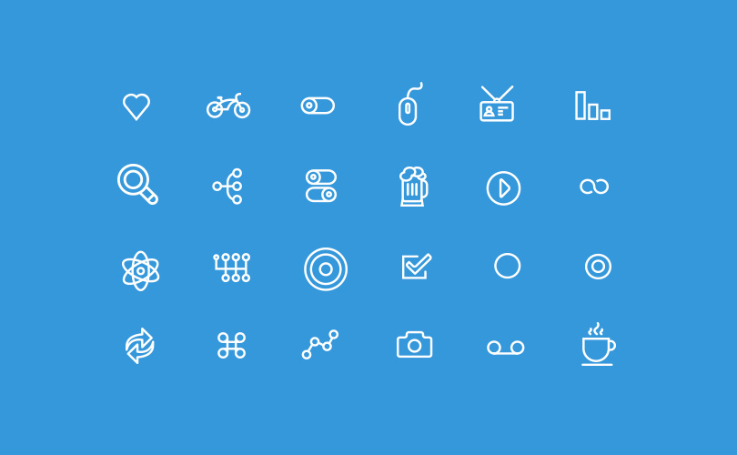 OtherCircles Thin Line Icon Set