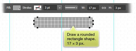 draw rounded rectangle shape