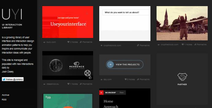 user interface design inspiration 5-1