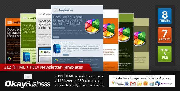 Okay Business Effective Newsletter Template