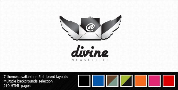 Divine Effective Newsletter Template