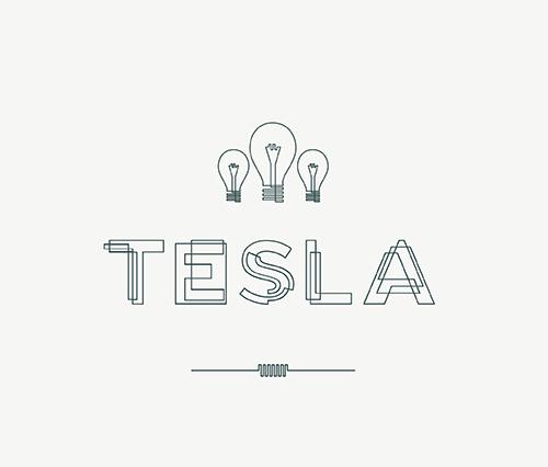 Tesla Fonts