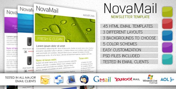 NovaMail Effective Newsletter Template