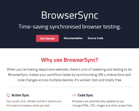 Time Saving Synchronised Browser Testing