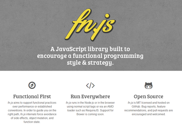 Fn.js – Encourage Functional Programming Style