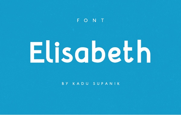 Free Font Of The Day : Elisabeth