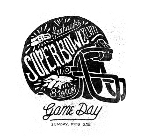 Superbowl XLVIII by Joshua Noom