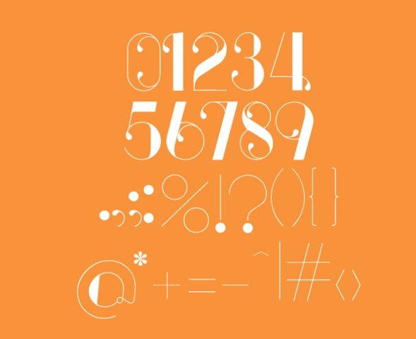 Free Font Of The Day : Serendipity