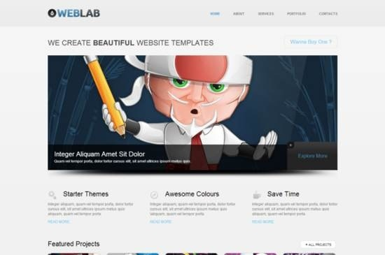 25+ Stylish and Trendy Free HTML5 CSS3 Templates