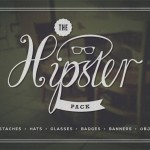 The Hipster Pack: 43 Vector Graphics
