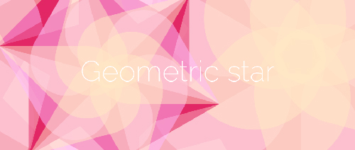 Creating a geometric star in Illustrator