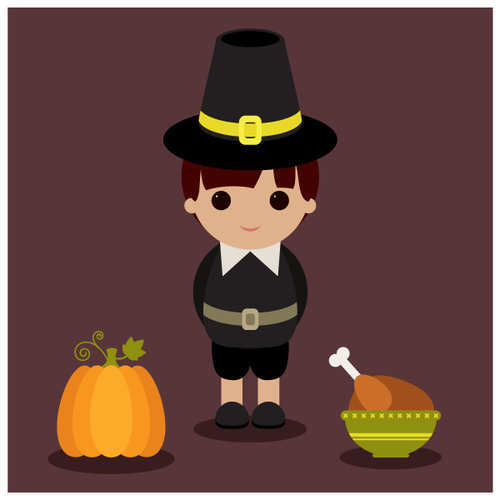 Create a Thanksgiving Illustration With Basic Shapes Using Illustrator
