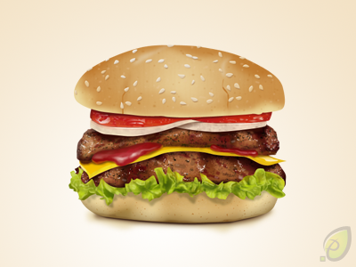 Hamburger Icon Pixel Perfect Photoshop Freebie