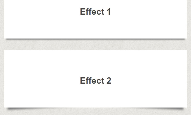 various css3 box shadow effects tutorial