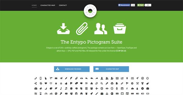 Entypo (250+ icons)