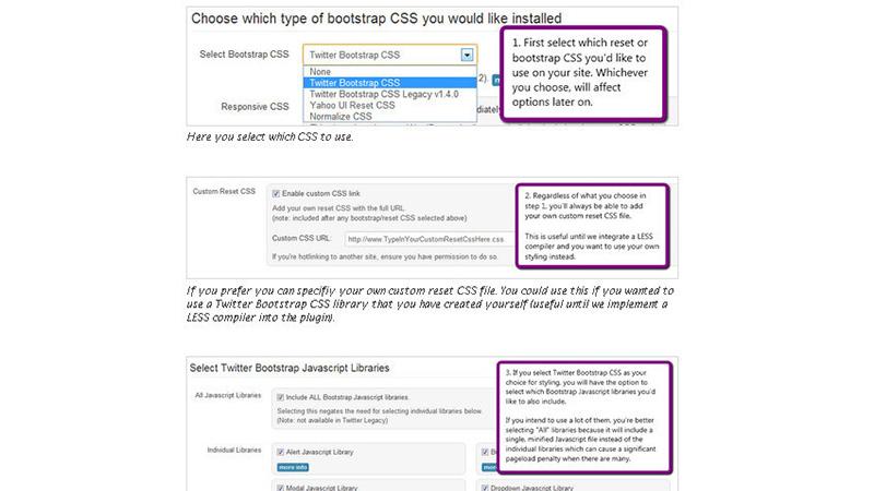 WordPress Twitter Bootstrap CSS