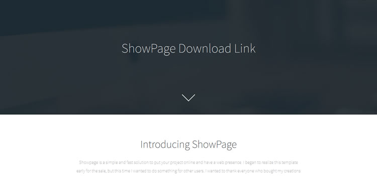 ShowPage css responsive HTML templates web-design free