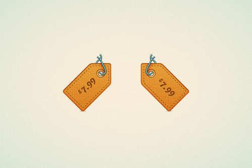 Create a Price Tag Icon in Adobe Illustrator