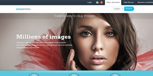 Sell Photos Online free high quality website photoshop templates