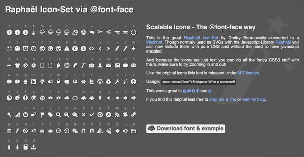 Raphaël Icon-Set (115+ icons)