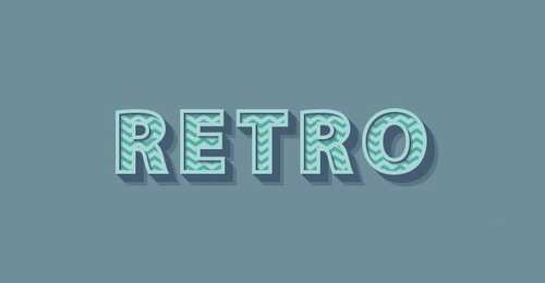 Create a 3D Retro Text Effect With The Appearance Panel