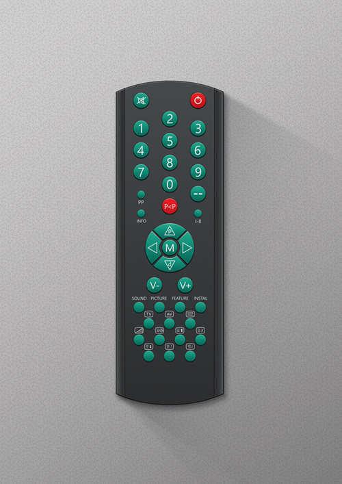 Create a Vector TV Remote