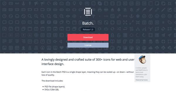 Batch (300+ icons)