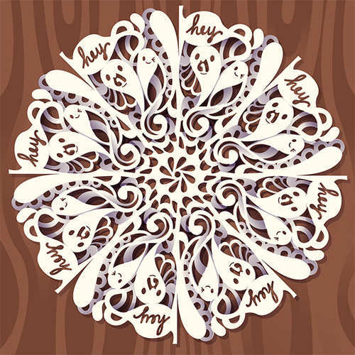 How to Create a Digital Doodled Snowflake in Adobe Illustrator