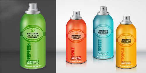 Create a Realistic Body Spray