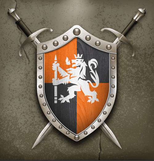 Create a Near Realistic Shield and Sword in Adobe Illustrator