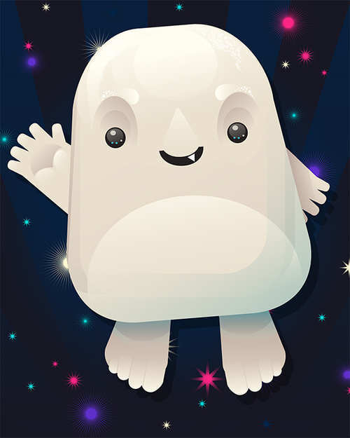 Create a Cute Adipose From Doctor Who in Adobe Illustrator