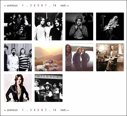 jPages free pagination plugins