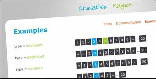 CreativePager free pagination plugin
