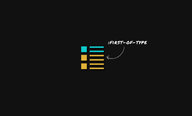 css3 first type structural selector tutorial