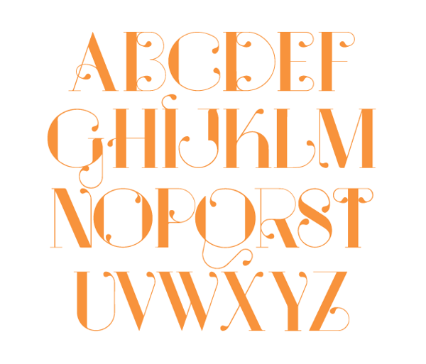 2.Free Font Of The Day  Serendipity
