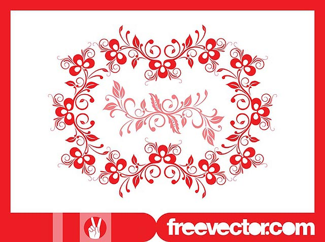 Floral Wreath Graphics fresh best free vector packs kits