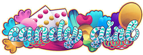 How to Create a Candy Striped Text Treatment with Colorful Candy Accents