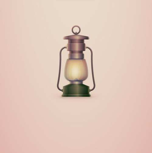 How to Create a Vintage, Camping Lantern Icon in Adobe Illustrator