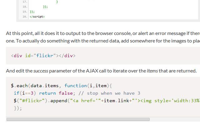 tutorial howto coding jquery javascript ajax