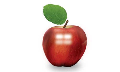 Photorealistic Apple Tutorial