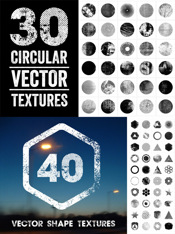 Scalable Vector Textures from Offset