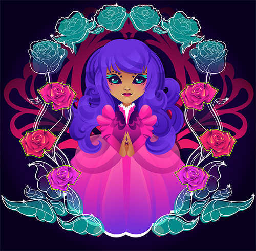 How to Create a Dark Fairy Tale Character in Adobe Illustration