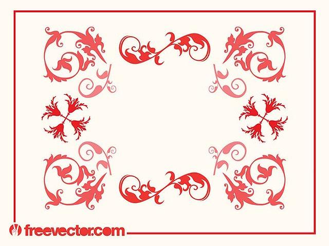 Swirly Frame Vector fresh best free vector packs kits
